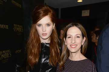 Allison Shearmur Premiere of 'Pride And Prejudice and Zombies' - Red Carpet