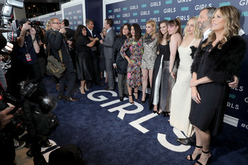 Allison Williams Lena Dunham The New York Premiere of the Sixth and Final Season of 'Girls' - Red Carpet