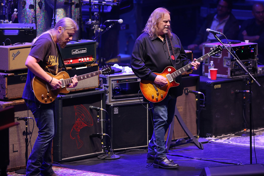 Warren haynes derek trucks photos allman brothers band in concert