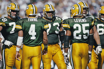 Brett Favre Allsport USA Edit And Rescans DI