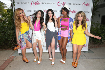 Ally Brooke Camila Cabello Fifth Harmony Exclusive Launch Event