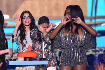 Ally Brooke Camila Cabello Nickelodeon's 28th Annual Kids' Choice Awards - Show