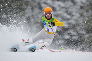 Susanne Riesch of Germany competes during the Ladies Slalom first run on day 15 of the Vancouver 2010 Winter Olympics at Whistler Creekside on February 26, 2010 in Whistler, Canada.