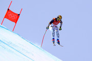 Viktoria Rebensburg of Germany competes during the Ladies' Downhill on day 12 of the PyeongChang 2018 Winter Olympic Games at Jeongseon Alpine Centre on February 21, 2018 in Pyeongchang-gun, South Korea.