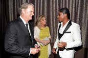 (L-R) Rick Hilton, Kathy Hilton and musician Jermaine Jackson attend the AltaMed Power Up, We Are The Future Gala at the Beverly Wilshire Four Seasons Hotel on May 12, 2016 in Beverly Hills, California.