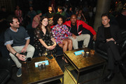 "(L-R) Ari Pearce, Sarah Babineau, Salone Money, Roy Wood Jr., and Jordan Klepper attend the ""Alternatino With Arturo Castro"" Season 1 premiere party at Slate on June 17, 2019 in New York City."