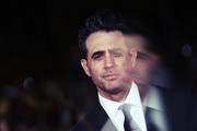 """Image was altered with digital filters.) Bobby Cannavale attends the """"Motherless Brooklyn"""" red carpet during the 14th Rome Film Festival on October 17, 2019 in Rome, Italy."""