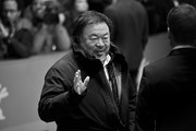 This image has been converted from color to black and white) Ai Weiwei attends the 'Django' premiere during the 67th Berlinale International Film Festival on February 8, 2017 in Berlin, Germany.