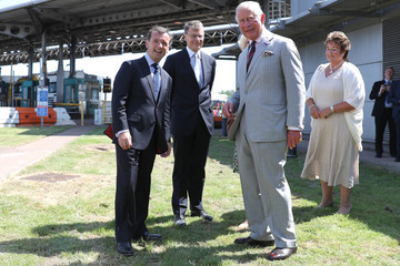 Alun Cairns The Prince Of Wales And Duchess Of Cornwall Visit Wales