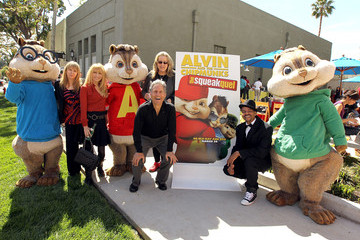Mary Daily Alvin And The Chipmunks: The Squeakquel Blu-ray Disc And DVD Release Event