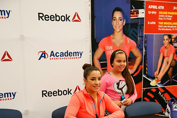 Aly Raisman Aly Raisman Visits Academy Sports + Outdoors