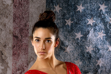 Aly Raisman 2016 Team USA Media Summit - Portraits