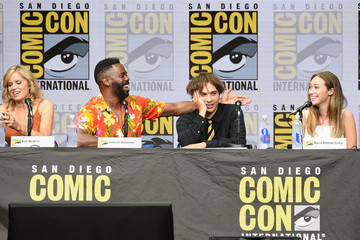 Alycia Debnam-Carey Comic-Con International 2017 - AMC's 'Fear The Walking Dead' Panel