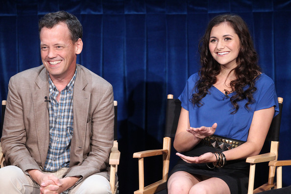 "Alyson Stoner Actor Dee Bradley Baker (L) and actress Alyson Stoner of the television show ""Phineas and Ferb"" speak during The Paley Center For Media's ""PaleyFest Family 2011"" on August 13, 2011 in Beverly Hills, California."