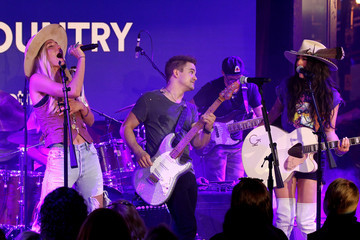 Alyssa Bonagura Spotify's Hot Country Presents Hunter Hayes, Chris Lane, And Michael Ray At Ole Red During CMA Fest