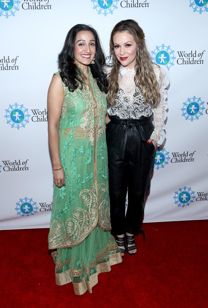 Alyssa Milano Photos Photos 2017 World Of Children Hero Awards