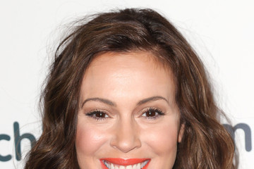 Alyssa Milano Arrivals at the March of Dimes Celebration of Babies