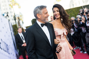 Amal Clooney American Film Institute's 46th Life Achievement Award Gala Tribute To George Clooney - Reception