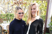 Amanda Hearst and Elizabeth Gilpin attend the Maison De Mode Oscar week lunch hosted by Rosario Dawson, Amanda Hearst, Hassan Pierre & Spotify at Petit Ermitage on February 18, 2015 in West Hollywood, California.