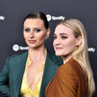 """Amanda Michalka Spotify Hosts """"Best New Artist"""" Party At The Lot Studios - Red Carpet"""