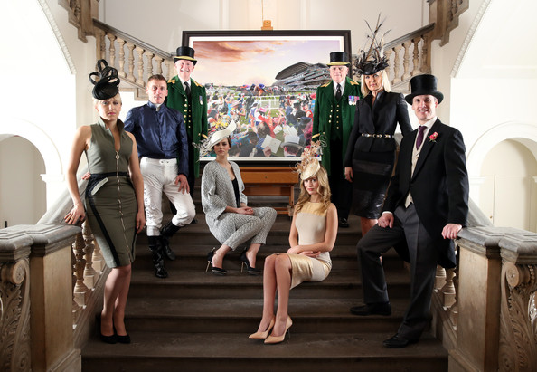 f3b6836c08 David Mach Reveals Royal Ascots  Great British Drama  To Celebrate The 2014  Event