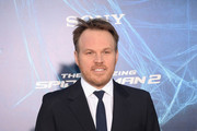 "Director Marc Webb attends ""The Amazing Spider-Man 2"" premiere at the Ziegfeld Theater on April 24, 2014 in New York City."