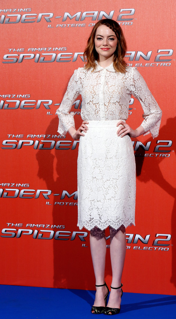 'The Amazing Spider-Man 2' Stars in Rome