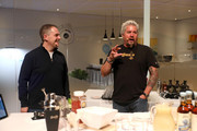 (L-R) Marc Whitten, Vice President, Amazon Fire TV and Guy Fieri speak onstage at the Amazon After Hours event during CES 2020 at The Venetian Las Vegas on January 07, 2020 in Las Vegas, Nevada.