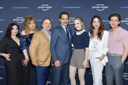 "Alex Borstein, Caroline Aaron, Kevin Pollak, Tony Shalhoub, Rachel Brosnahan, Marin Hinkle and Michael Zegen attend ""The Marvelous Mrs. Maisel"" FYC Screening at Hollywood Athletic Club on April 23, 2019 in Hollywood, California."