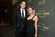 Christopher French and Ashley Tisdale attend the Amazon Prime Video's Golden Globe Awards After Party at The Beverly Hilton Hotel on January 6, 2019 in Beverly Hills, California.