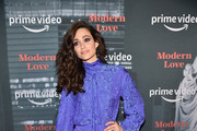 Emmy Rossum attends Amazon's Museum Of Modern Love on October 10, 2019 in New York City.