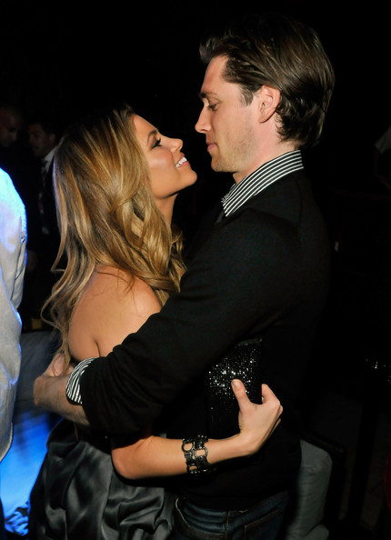 Amber Lancaster with friendly, Boyfriend Zack Conroy