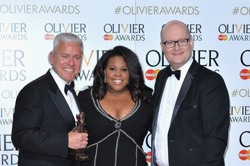Amber Riley The Olivier Awards with Mastercard - Winners Room