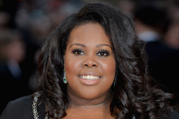 Amber Riley The Olivier Awards with Mastercard - Red Carpet Arrivals