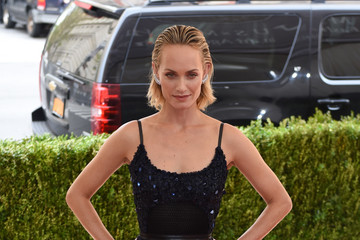 Amber Valletta 'Manus x Machina: Fashion in an Age of Technology' Costume Institute Gala