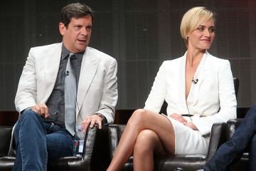 Amber Valletta 2015 Summer TCA Tour - Day 9
