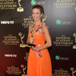 Amelia Heinle Press Room at the Daytime Emmy Awards