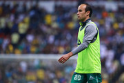 Landon Donovan of Leon walks prior to the 11th round match between America and Leon as part of the Torneo Clausura 2018 Liga MX at Azteca Stadium on March 10, 2018 in Mexico City, Mexico.