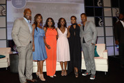 """Nicole Friday, Jeff Friday, Star Jones, Gabrielle Union, Aja Naomi King and  Nate Parker attends The American Black Film Festival first look """"The Birth Of A Nation"""" on June 17, 2016 in Miami Beach, Florida."""