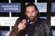 Ally Hilfiger and Steve Hash attend American Express Platinum House At The 1 Hotel South Beach at 1 Hotel South Beach on December 6, 2018 in Miami, Florida.