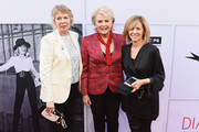 (L-R) Writer Diane English, actor Candice Bergen, and writer-director Nancy Meyers arrive at American Film Institute's 45th Life Achievement Award Gala Tribute to Diane Keaton at Dolby Theatre on June 8, 2017 in Hollywood, California. 26658_007