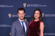 Eric Mabius (L) and Ivy Sherman attend the American Friends of the Israel Philharmonic Orchestra Los Angeles Gala 2018 at Wallis Annenberg Center for the Performing Arts on October 25, 2018 in Beverly Hills, California.