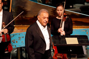 Conductor Zubin Mehta attends the American Friends of the Israel Philharmonic Orchestra Duet Gala at the Wallis Annenberg Center for the Performing Arts on November 10, 2015 in Beverly Hills, California.