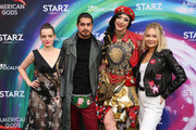 Roxane Mesquida, Avan Jogia, Jay 'Laganja Estranja' Jackson and Kelli Berglund attend American Gods & Now Apocalypse Live Viewing Party At #TwitterHouse at Lustre Pearl on March 10, 2019 in Austin, Texas.