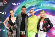Roxane Mesquida, Avan Jogia, Alyson Stoner and Kelli Berglund attend American Gods & Now Apocalypse Live Viewing Party At #TwitterHouse at Lustre Pearl on March 10, 2019 in Austin, Texas.