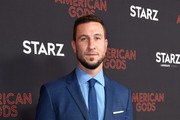 Pablo Schreiber attends the American Gods Season Two Red Carpet Premiere Event on March 5, 2019 in Los Angeles, California.