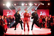Eve performs on the runway for The American Heart Association's Go Red For Women Red Dress Collection 2019 Presented By Macy's at Hammerstein Ballroom on February 7, 2019 in New York City.