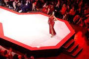Jordyn Woods walks the runway for The American Heart Association's Go Red For Women Red Dress Collection 2019 Presented By Macy's at Hammerstein Ballroom on February 7, 2019 in New York City.