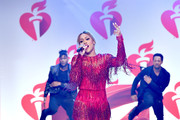 Eve walks the runway for The American Heart Association's Go Red For Women Red Dress Collection 2019 Presented By Macy's at Hammerstein Ballroom on February 7, 2019 in New York City.