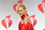 Elisabeth Rohm walks the runway for The American Heart Association's Go Red For Women Red Dress Collection 2019 Presented By Macy's at Hammerstein Ballroom on February 7, 2019 in New York City.